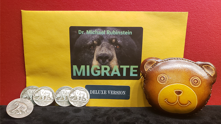 MIGRATE DLX COIN by Dr. Michael Rubinstein