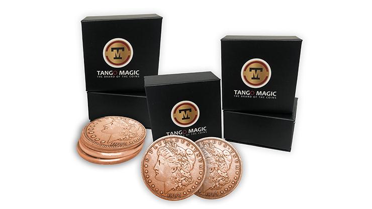 Copper-Morgan-TUC-plus-3-Regular-Coins-by-Tango-Magic