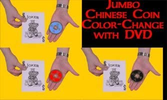 Jumbo-Color-Changing-Chinese-Coin-by-Joker-Magic
