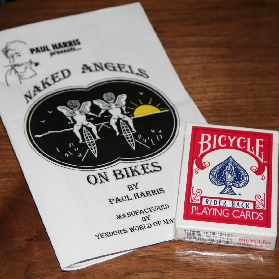 Paul Harris Naked Angels on BIkes