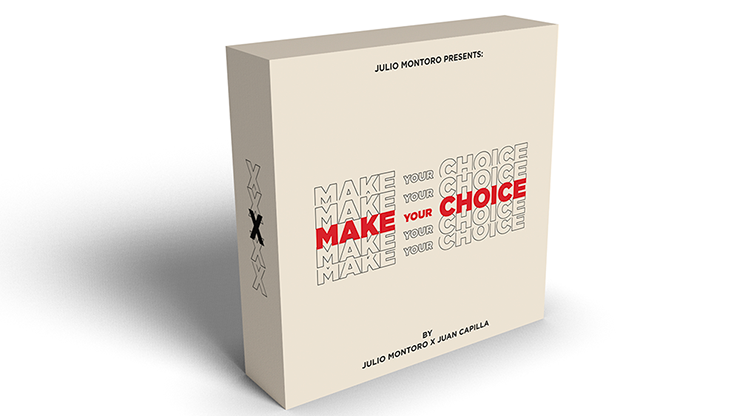 MAKE YOUR CHOICE by Julio Montoro and Juan Capilla