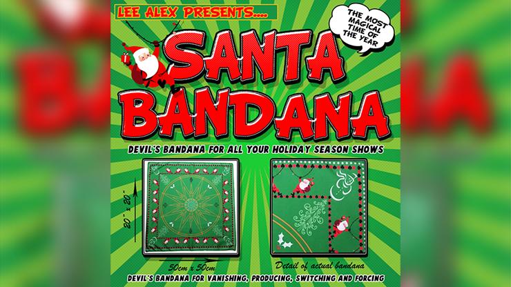 Santa Bandana by Lee Alex