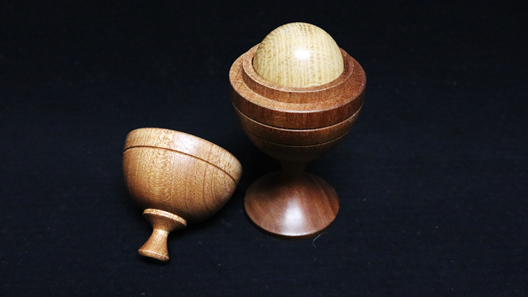 Deluxe Wooden Ball Vase (Merlins Premier Range) by Merlins Magic