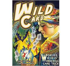 Wild Card DVD with cards